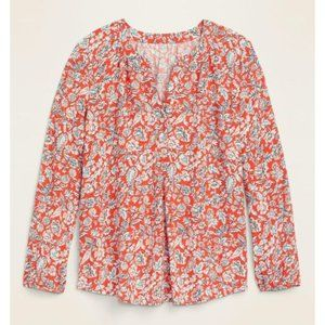 Old Navy Relaxed Popover Blouse